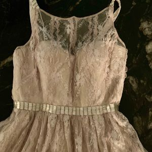 Aidan Mattox Lace Cocktail Dress